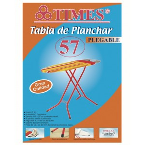 TABLA DE PLANCHAR PLEGABLE TIMES