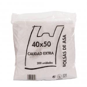 BOLSA CAMISETA BLANCA 40x50cm (PACKx200)