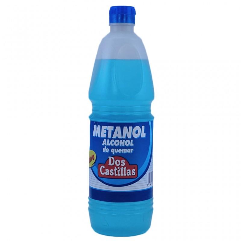Alcohol de quemar producto elaborado a base de Metanol