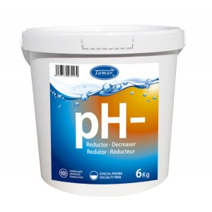REDUCTOR pH- GRANO 6KG