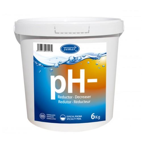 REDUCTOR pH- GRANO 6KG