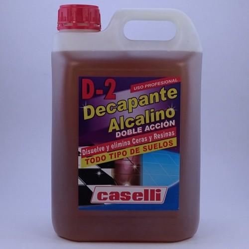 DECAPANTE ALCALINO D-2 CASELLI 5LT