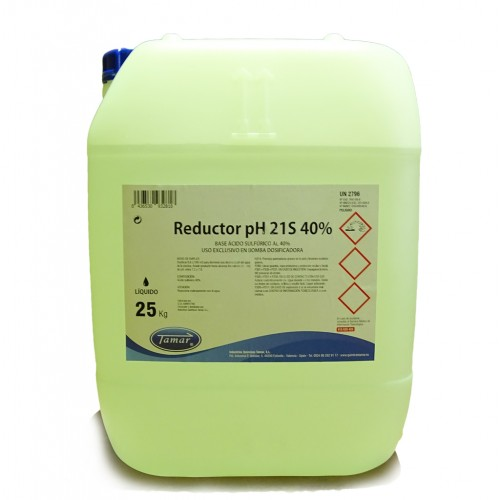 REDUCTOR pH- 21S (BASE SULFURICO) 25KG