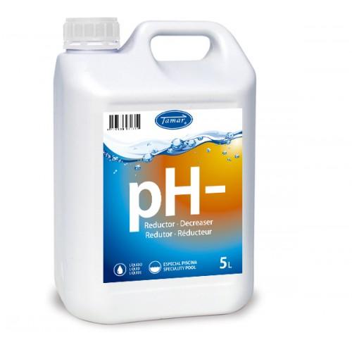 REDUCTOR pH- LIQUIDO 5LT