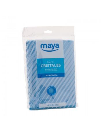 BAYETA MICROFIBRA ESPECIAL CRISTALES 40x40cm 280gr
