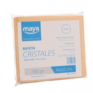 BAYETA CRISTALES PROFESIONAL 40x35cm (PACKx5)