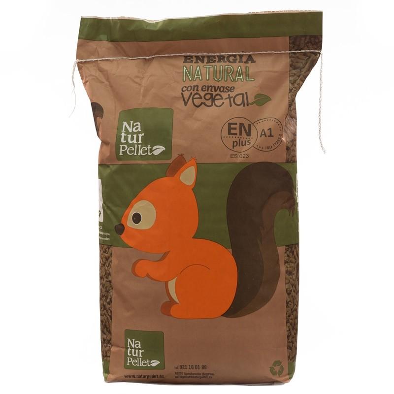 Precio saco de pellets cool palet sacos fbrica pellets madera galicia espaa biomasa forestal - Pellets bricomart ...