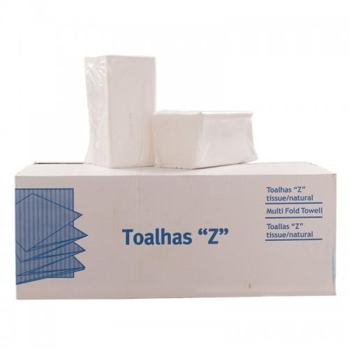 TOALLAS ZIG-ZAG TISSUE (CAJA 20 PKTx200)