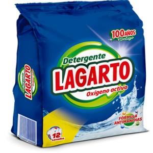 DETERGENTE OXIGENO ACTIVO LAGARTO 12 LAVADOS