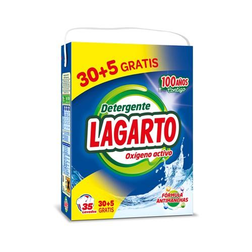 DETERGENTE OXIGENO ACTIVO LAGARTO 2660gr