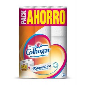 PAPEL HIG. COLHOGAR KILOMETRICO PACKx30R